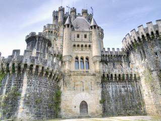 castillo de bruton,vizcaya,españa