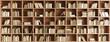 Leinwanddruck Bild - Bookcase