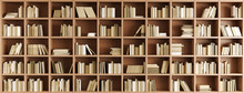 "Постер, картина, фотообои ""Bookcase"""