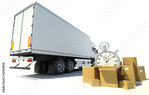 Time record transportation