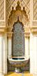 Leinwanddruck Bild - Moroccan architecture design