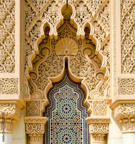 Fotobehang Midden Oosten Moroccan architecture traditional
