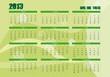 2013 nuevo calendario