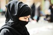 Muslim woman with veil - 42427675