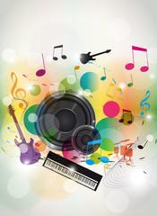musique enceinte A4