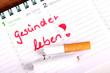 Vorsatz für das neue Jahr. Aufhören zu rauchen