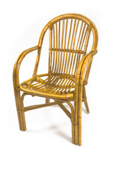 Chairs made of rattan