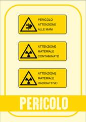 Segnale Pericolo Kit 19