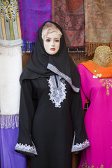 woman mannequin at dubai