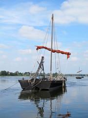 Bateau sur la Loire