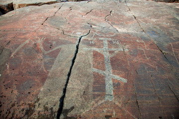 Mysterious petroglyphs of Onega. Besov Nos
