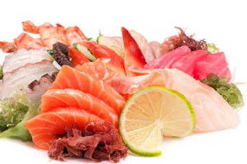 Assorted Sashimi great.