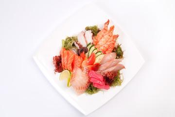 Assorted Sashimi great.