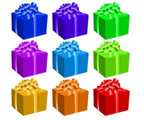 Plaquette de cadeaux