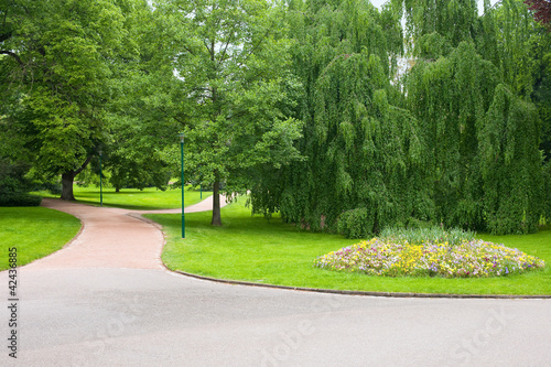 Papiers peints Jardin Park Pepiner in Nancy