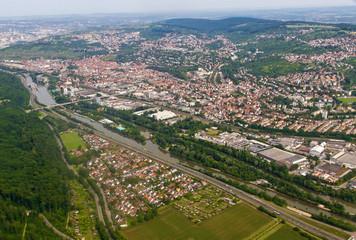 Luftaufnahme - Neckartal