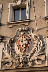 Fassadendekoration in Deggendorf
