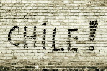 Steinmauer Chile