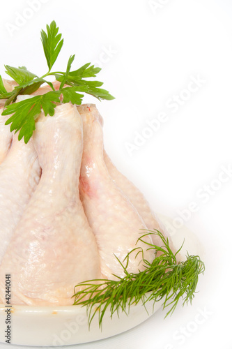 chicken leg quarters