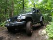 Fototapeten,jeep,wald,streich,matsch