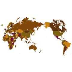 世界地図 世界 地図