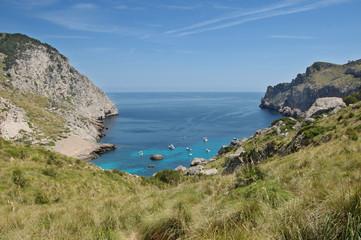 Cala Figuera at Formentor