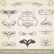 Calligraphic Element Set 2