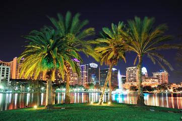 Orlando night scene