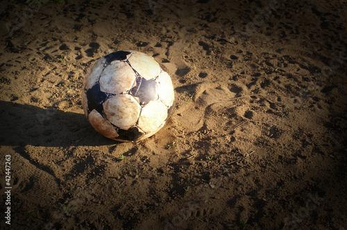 Ball auf dem Sand