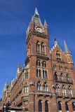 Grand Midland Hotel & Kings Cross Station poster