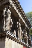The Caryatids at St Pancras Parish Church poster