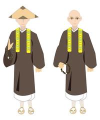 お坊さん Buddist priests