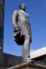 Robert Stephenson Statue at Euston Station