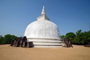 Kiri Vihara,Buddhist temple ruins  in Anuradhapura,Sri Lanka