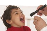 Enfant - Inflammation des  Amygdales poster