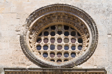St. Nicola Mother Church. Corigliano d'Otranto. Puglia. Italy.