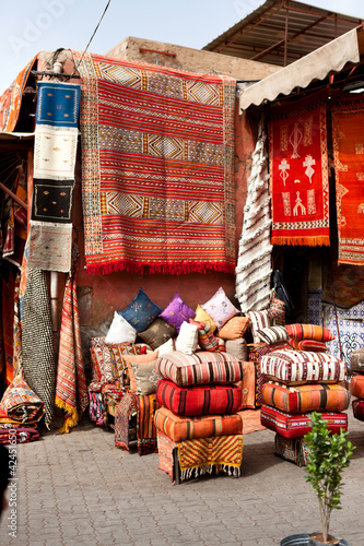 Carpets for sale in Marrakech
