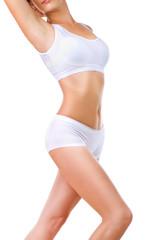 Perfect Slim Body over White