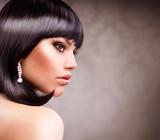 Fototapeta brunetka - dziewczynka - Kobieta