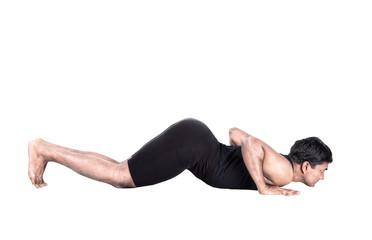 surya namaskar ashtanga position