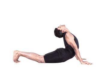 surya namaskar bhujangasana position