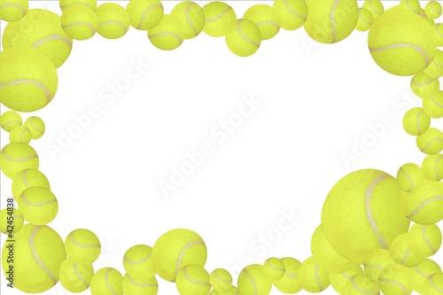 tennis balls frame easy -#main