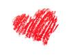 coeur dessiné a la pastel
