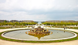 fountain in the park of Versailles palace, France
