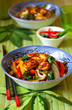 Stir-fried vegetables with tofu