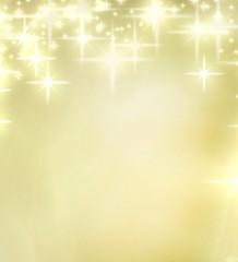 stars and lights retro christmas background