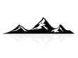 Mountain peaks, logo,icon,sign,vector