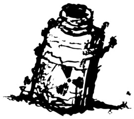 Radioactive Jar Ink