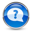 Questions glossy icon