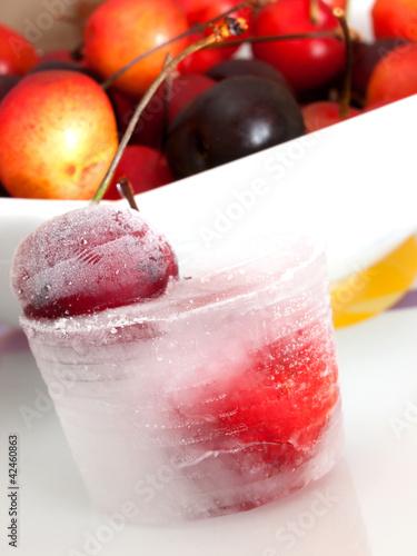ciliegie ghiacciate